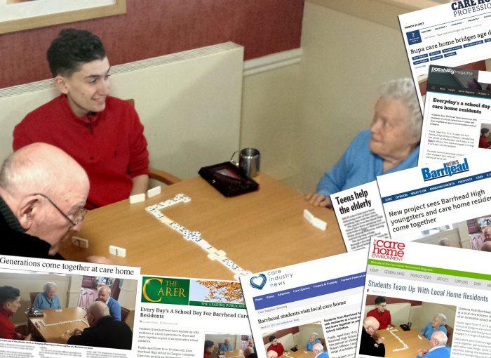 Millview Community Involvement Edinburgh PR coverage report