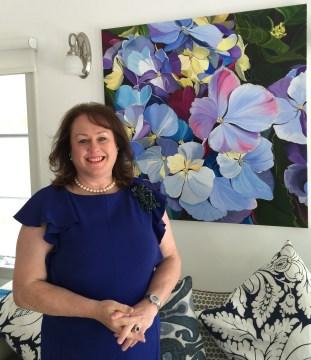 Scottish floral artist, Susie Capaldi