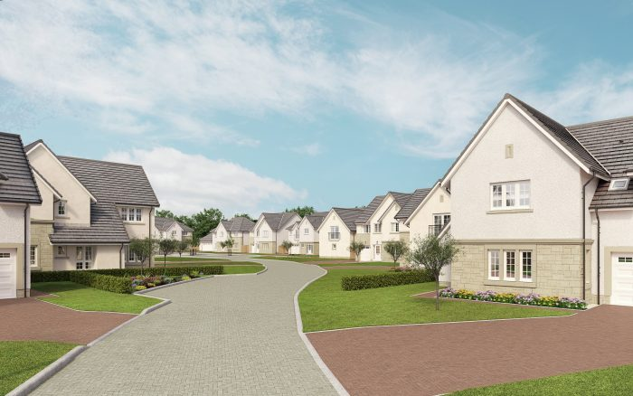 An Image of New Homes At Broomieknowe Golf Club for a story by an Edinburgh PR agency