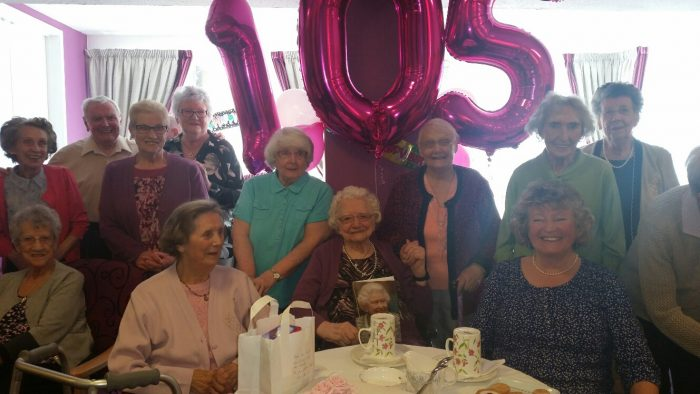 CARE PR Agency reports the celebration of 105th Birthday