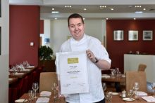 Alan Dickson RCSEd Chef of the year hospitality PR public relations