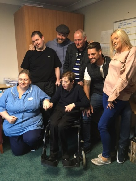 Edinburgh PR agency announces Boyzlife care home visit