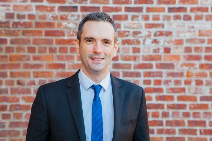 David Marshall poses for Edinburgh PR story