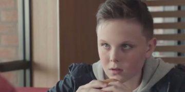 McDonald's; boy; advert; food and drink PR,