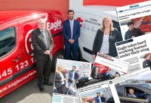 PR success for Eagle Couriers