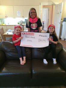 Leah and Aine for Charity PR