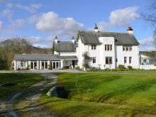 Ceannacroc Lodge on the market with Bell Ingram a Property PR Client