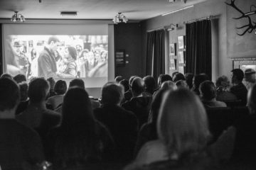 Cinema audience for Food and Drink PR Story