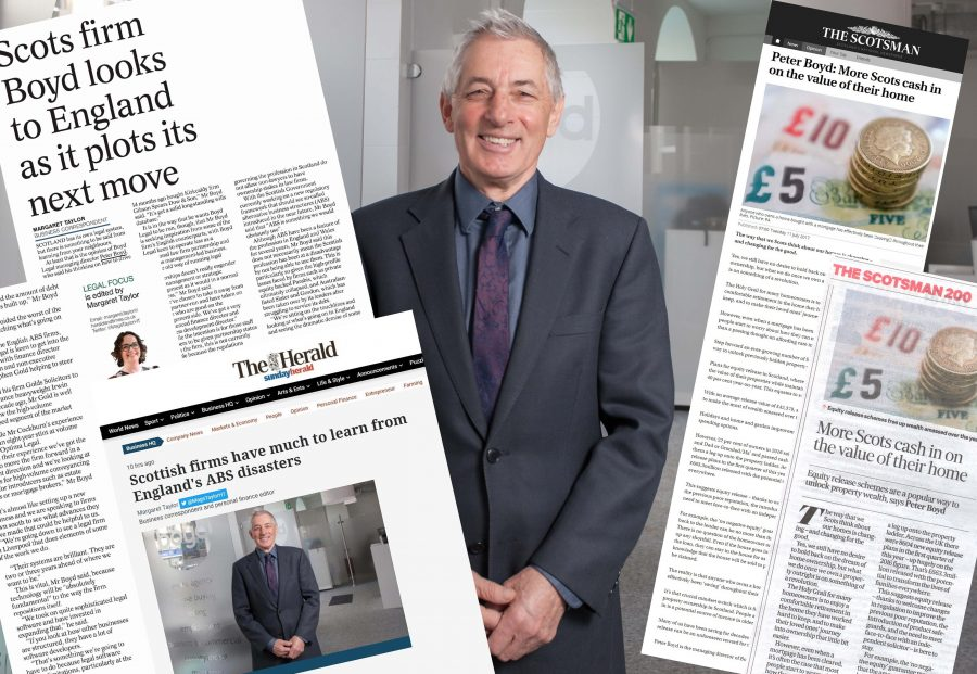 Thought Leadership media montage from Legal PR