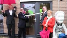 Ribbon Cutting at Blackwood Housing Launch - Scottish PR agency