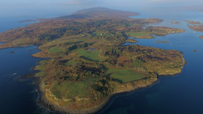 Image of Isle of Ulva to be shared by Scottish PR, Holyrood PR