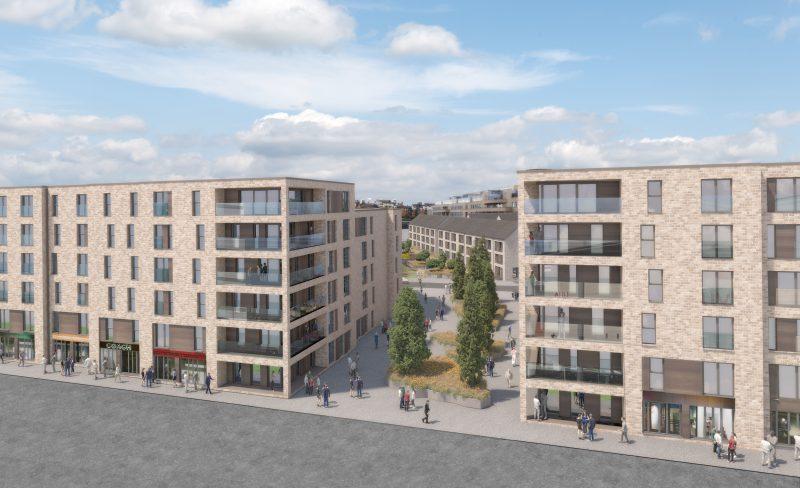 Waterfront Plaza Property PR CALA Homes Edinburgh Holyrood