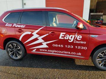 Eagle Couriers PR Scotland Business Courier