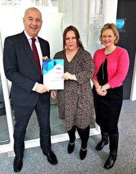 Kerry Wells ESPC award Property PR Edinburgh
