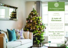 Winter event invite at The Walled Gardens to be shared by Edinburgh PR Agency