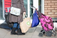 Shopping bag image to be used by Scottish PR agency