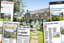 Bell Ingram enjoy Property PR success for South Kinaldy House
