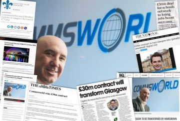 Ricky Nicol , Chief Executive of the telecoms company Commsworld Scottish PR agency Holyrood PR