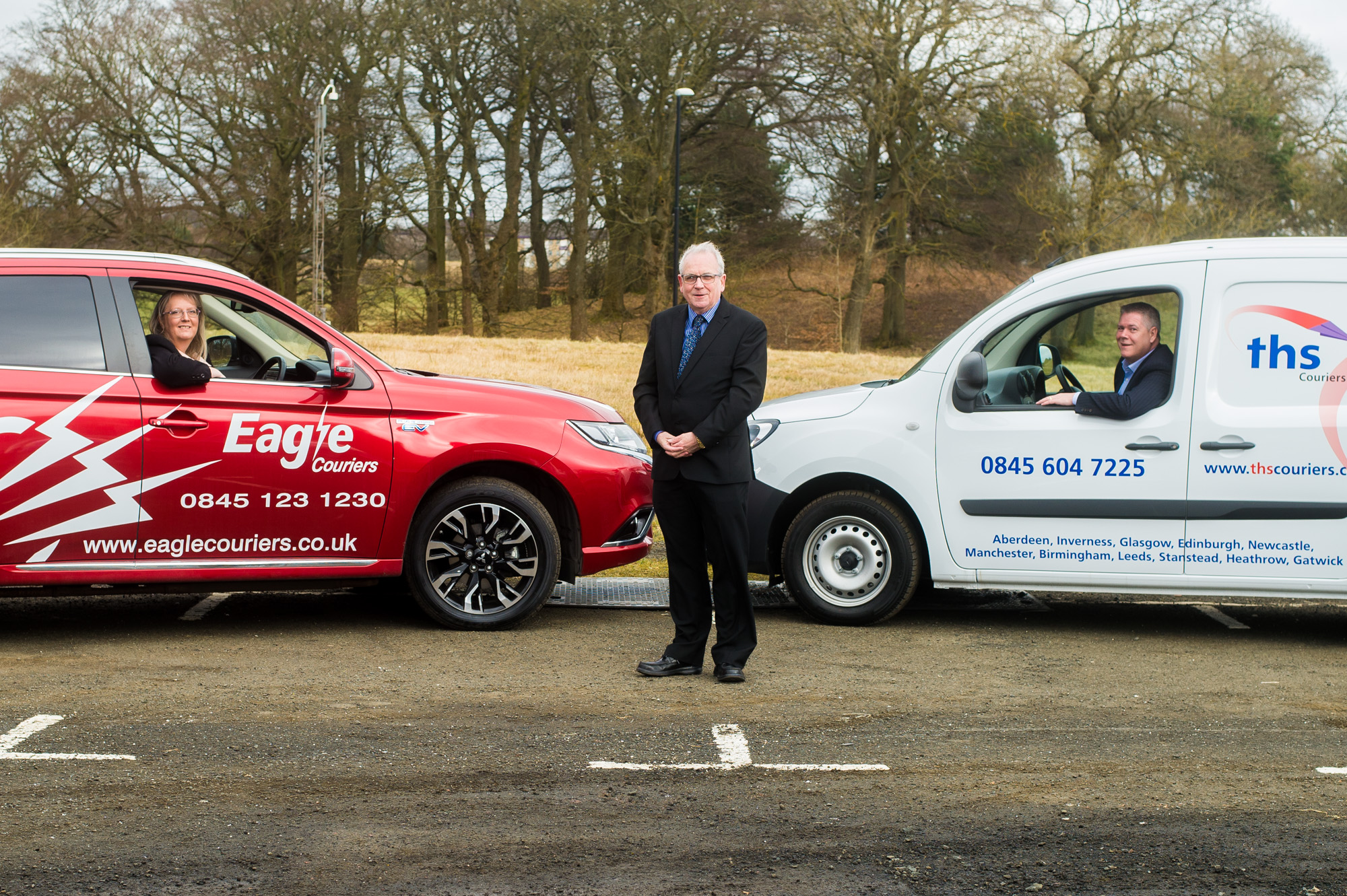 Eagle Couriers used PR photography from Holyrood PR