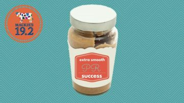 Social Media Reach Infographic for Mackie's 19.2 Peanut Butter Tap PR agency in Scotland