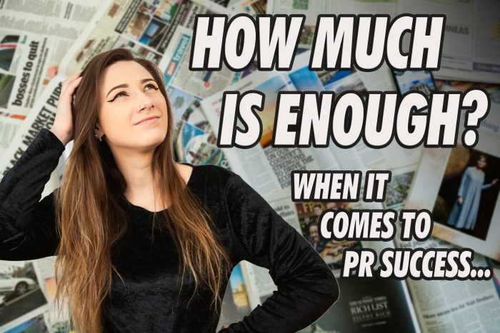 How much coverage represents PR Success?