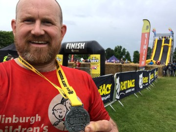 Scottish PR experts share a story of a father who has vowed to complete 18 lung-busting challenges this year for an Edinburgh Charity.