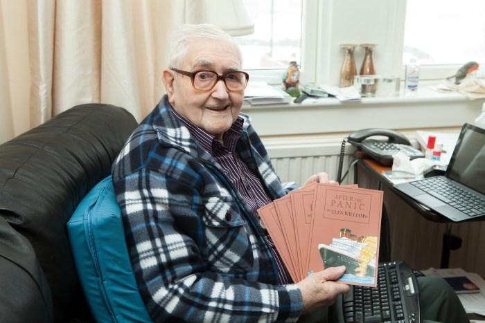 Retired plumber Bill Glen wrote his debut novel aged 96 | social care PR