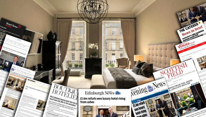 Nira Caledonia Relaunches with help from hospitality pr experts