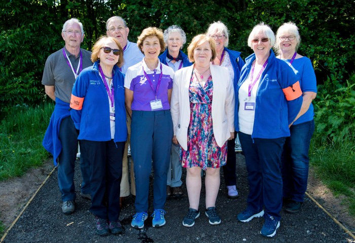 Scotland's First Ever Dementia Friendly Park with Path for All | Scottish PR