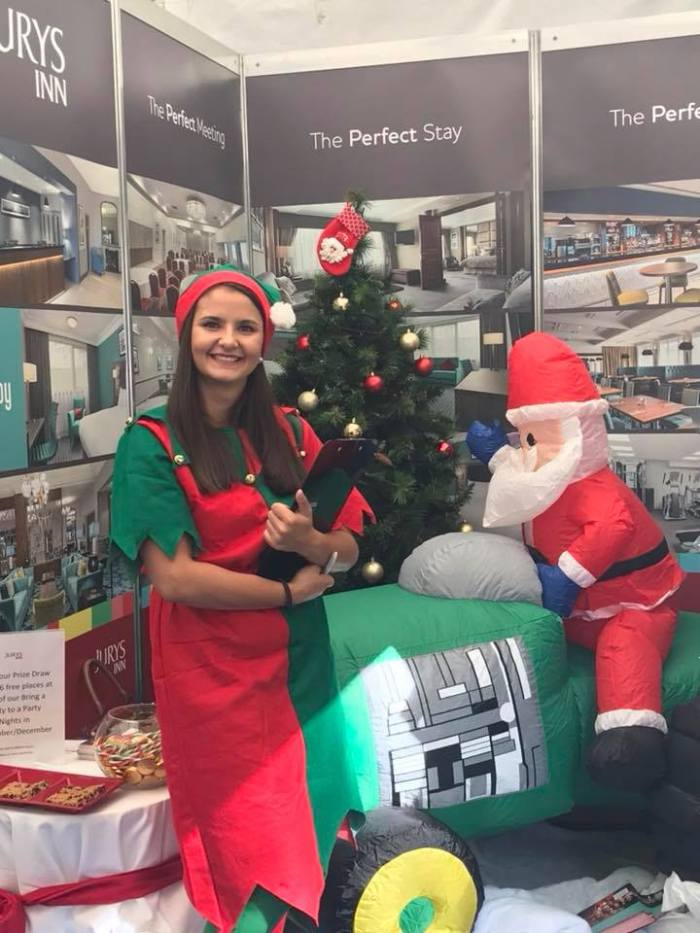 Christmas Elves Come Out to Play at the Turriff Show | Hospitality PR