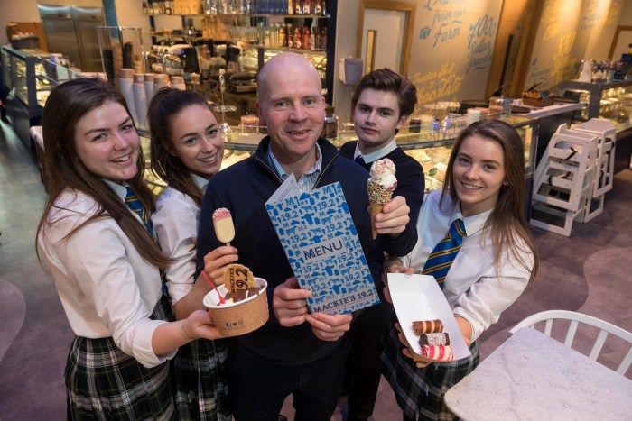 Mackie's of Scotland: Mackie's Scoops Its First Parlour