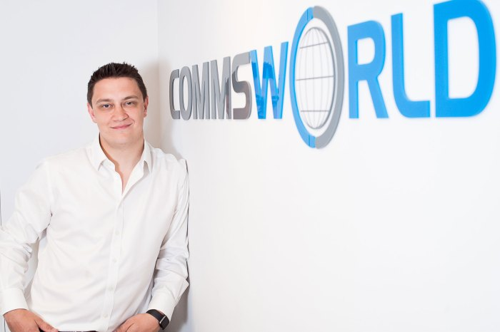 Charlie Boisseau, Chief Technology Officer at Commsworld comments on the new partnership with Sky   Tech PR