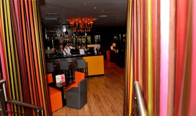 Interior design at Hyde Out for pub and restaurant PR campaign