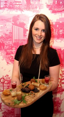 Food and drink PR photos from Hyde Out style bar in Scotland