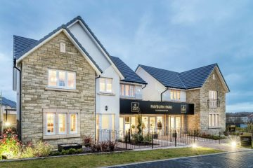Property PR photograph of CALA Homes Mayburn Park in Straiton