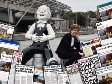 Scottish PR team help to spread word about ECHC's Oor Wullie's Big Bucket Trail