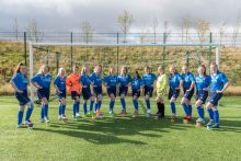 Alford Academy Women's Football Team strips provided by Mackie's of Scotland | Consumer PR