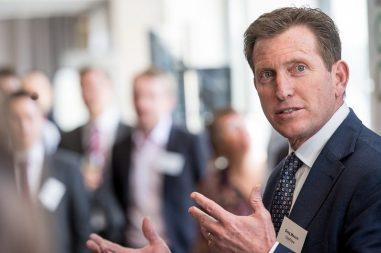 CityFibre CEO Greg Mesch pictured in a tech PR photo