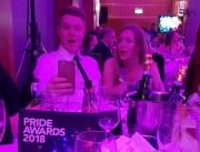 Holyrood PR staff at PRide Scotland 2018 PR awards