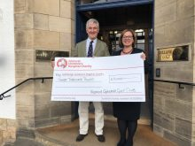 Charity PR shares story of Gullane fundraiser