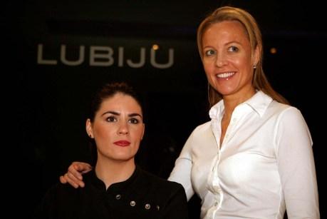 Alternative health experts at Lubiju, in a hair and beauty PR photo