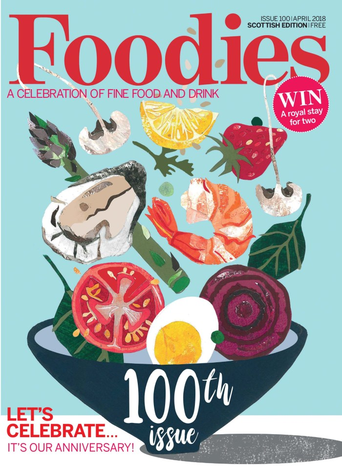 Foodies Magazine 100th Anniversary Cover | Hair & Beauty PR