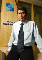 Legal PR photography of Edinburgh property solicitor Brian Warner of PSM Law Group