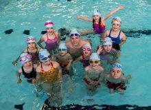 Duncan Scott, olympic winner, is filmed in a PR video during the celebration of Learn to Swim programme shared by Edinburgh PR agency