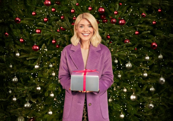 M&S PR photograph of Holly Willoughby as part of a successful influencer marketing campaign.