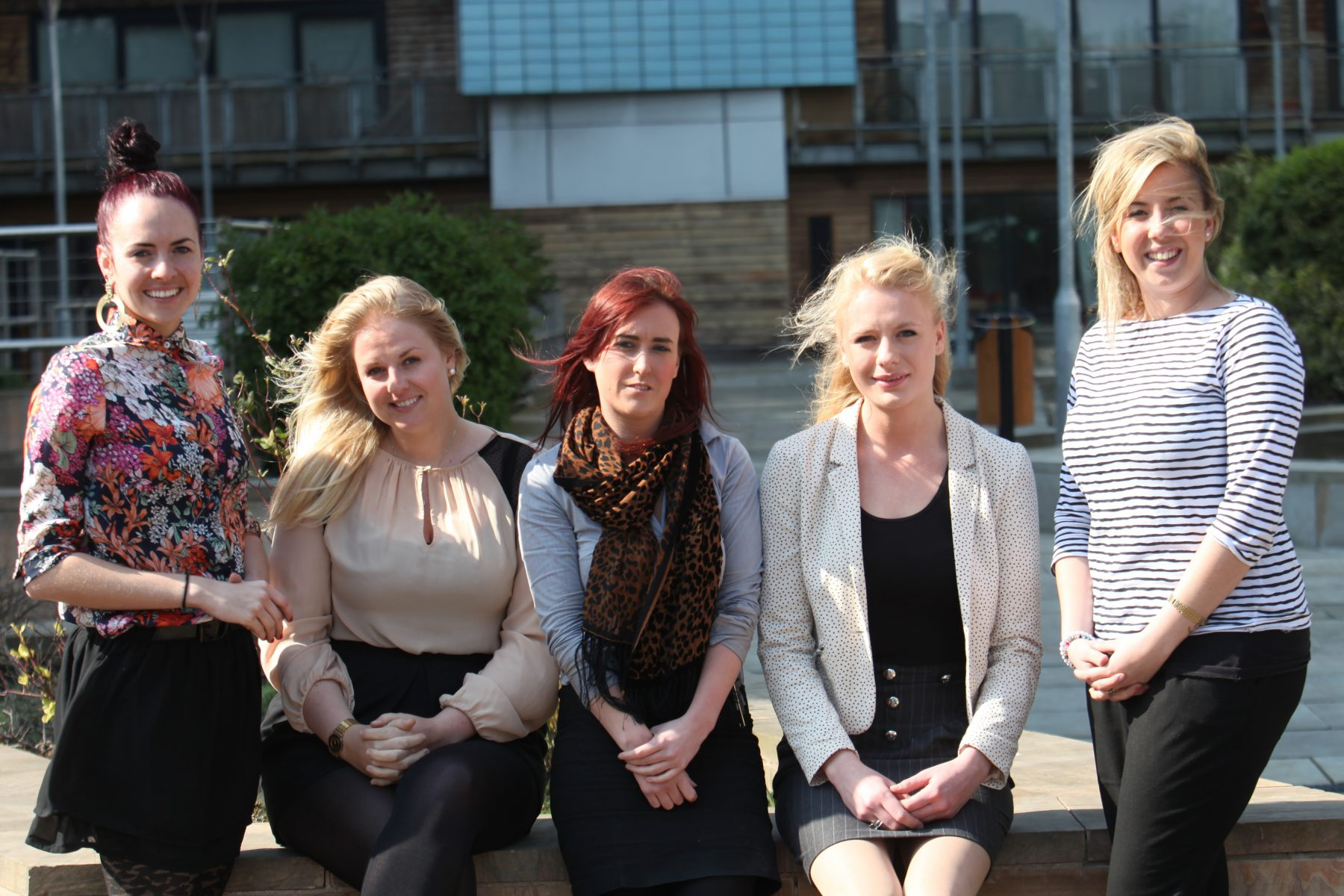 Award winning PR agency team at Holyrood PR in 2012