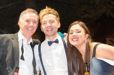 The team with award winning Holyrood PR at the 2015 CIPR Scotland PR awards