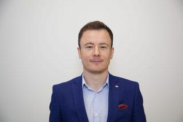 Tech PR photograph of Dan Smith at Skyrora