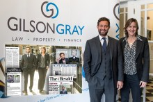 Legal PR for Gilson Gray event featuring Dame Katherine Grainger