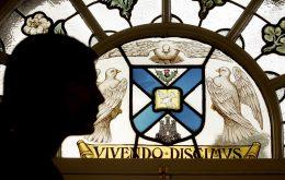 Sir Patrick Geddes window at Fraser Suites - Hotel PR